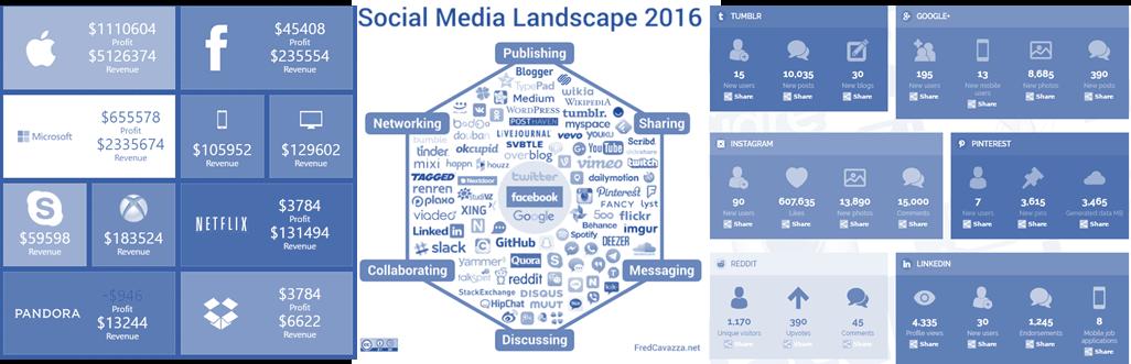 panorama réseaux sociaux