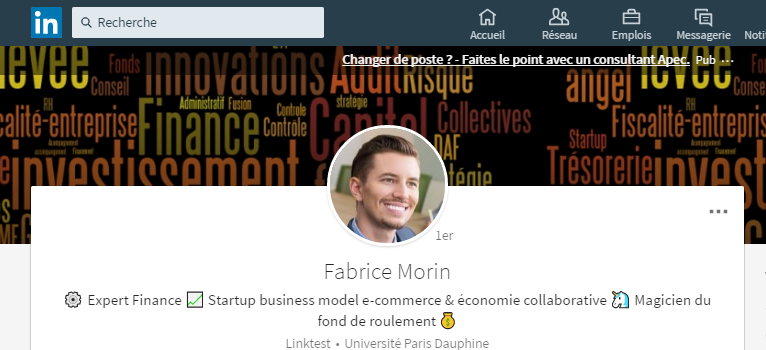 image couverture linkedin fabrice morin